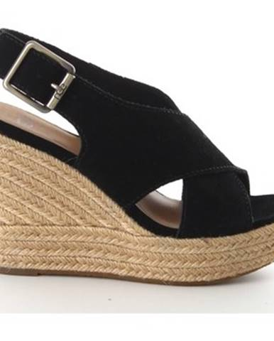 Čierne sandále UGG