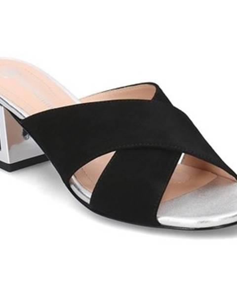 Čierne topánky Solo Femme