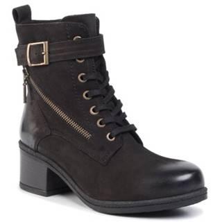 Šnurovacia obuv  WI23-DAJANA-04 Prírodná koža(useň) - Nubuk