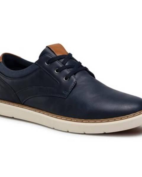 Tmavomodré topánky Lanetti