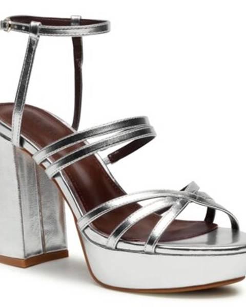 Strieborné sandále DeeZee