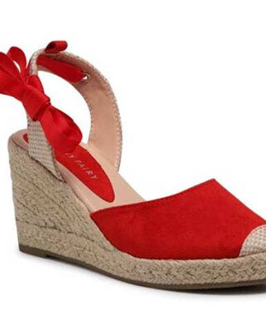 Červené sandále Jenny Fairy