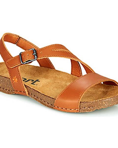Hnedé sandále Art