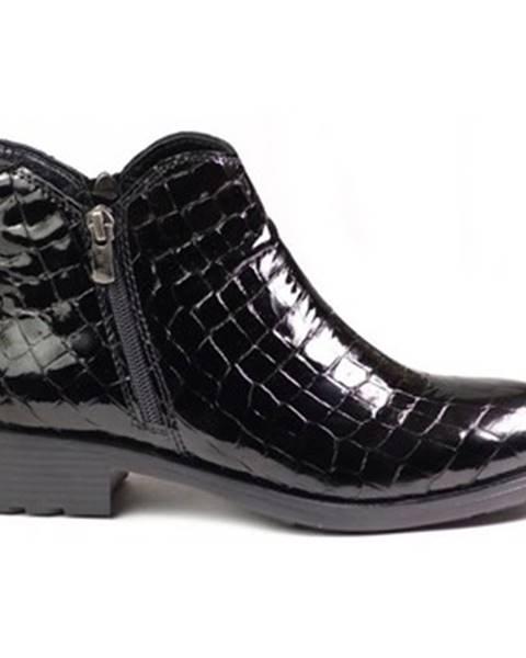 Čierne topánky Venezia