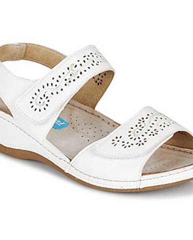 Biele sandále Damart