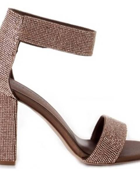 Oranžové sandále Jeffrey Campbell