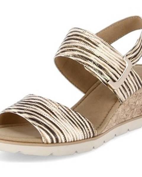 Béžové sandále Gabor