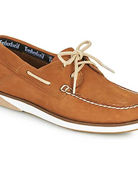 Červené topánky Timberland