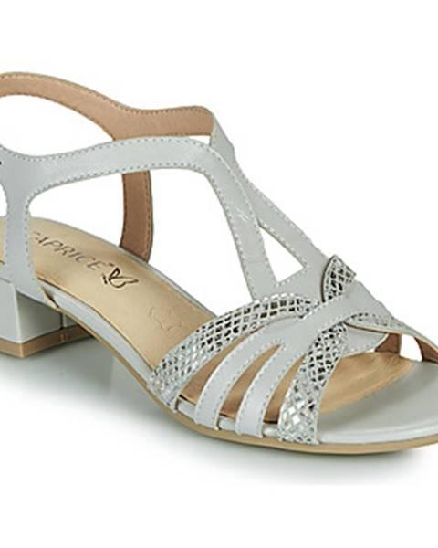 Béžové sandále Caprice