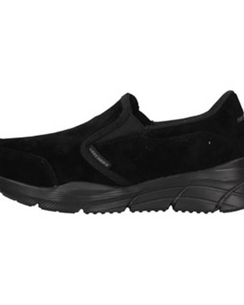 Čierne espadrilky Skechers