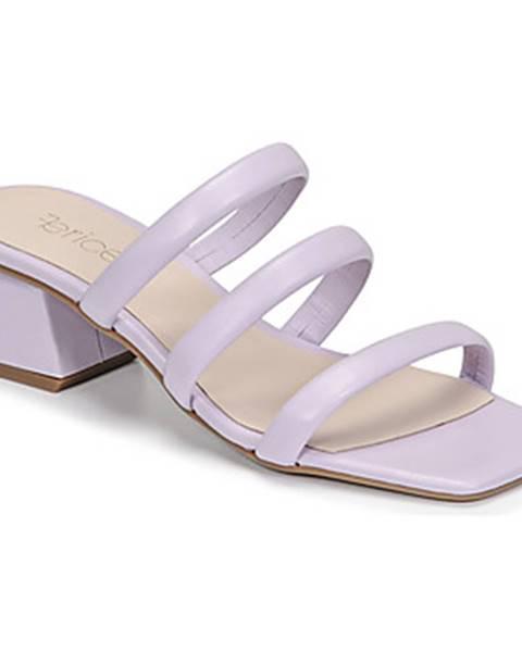 Fialové topánky Fericelli