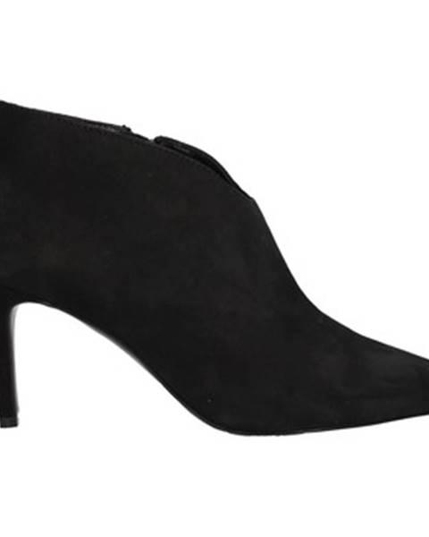Čierne čižmy Paolo Mattei