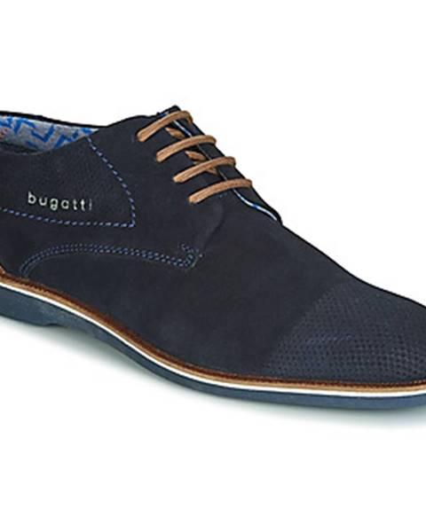 Modré topánky Bugatti