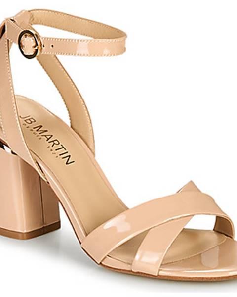 Ružové sandále JB Martin