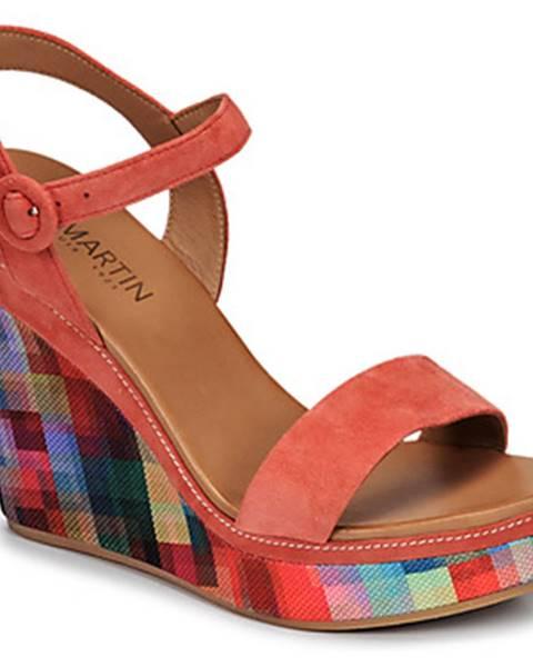 Viacfarebné sandále JB Martin
