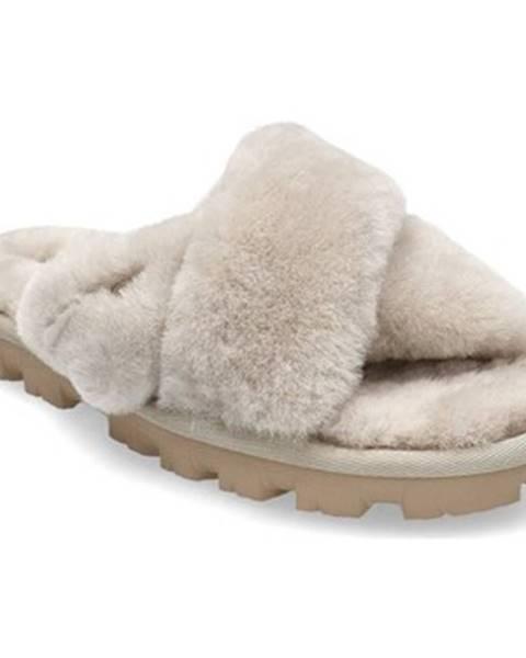 Béžové papuče UGG