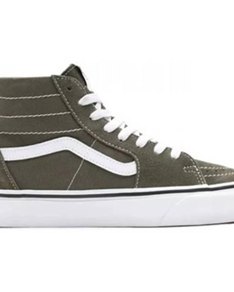 Zelené topánky Vans
