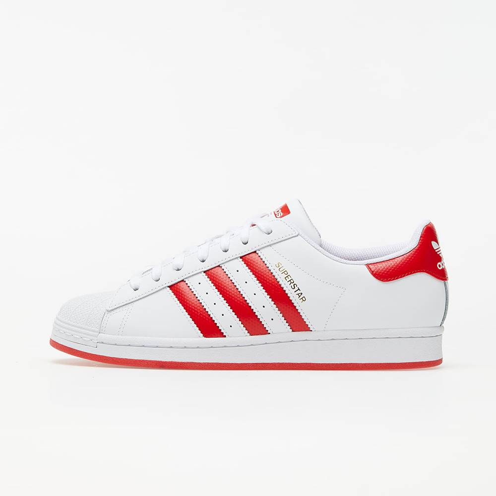 adidas Originals adidas Superstar Ftw White/ Lust Red/ Gold Metalic