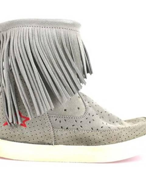 Béžové topánky Ishikawa