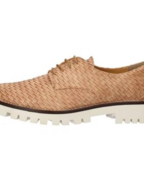 Hnedé topánky Olga Rubini