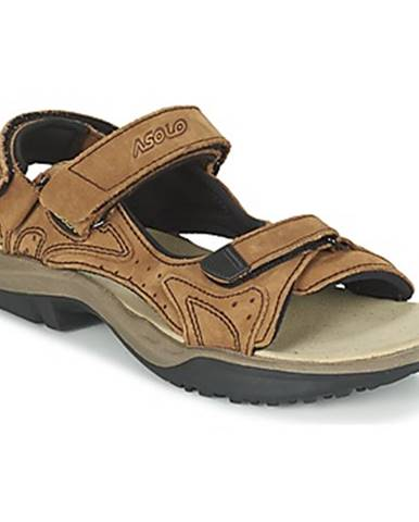 Hnedé športové sandále Asolo
