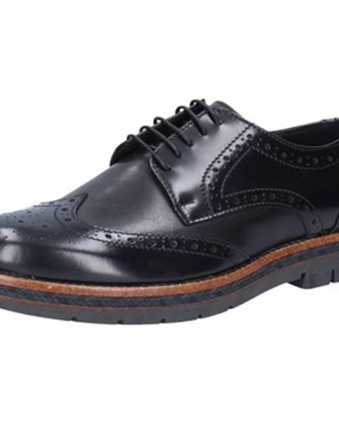 Čierne topánky Salvo Ferdi