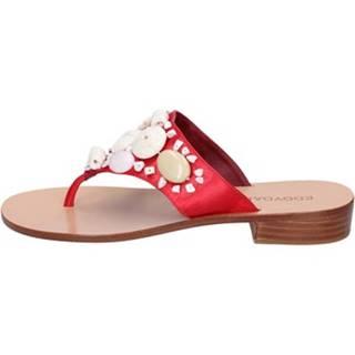 Sandále Eddy Daniele  sandali rosso raso aw375