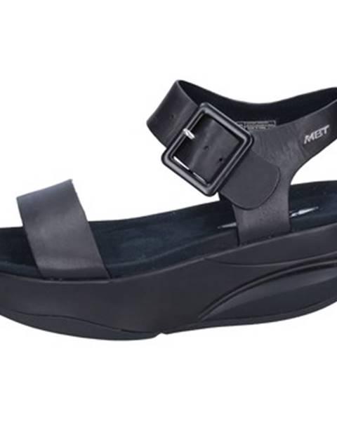 Čierne sandále Mbt