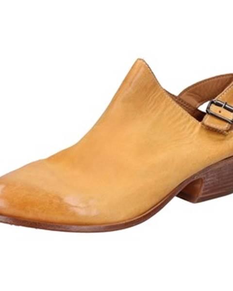 Žlté sandále Moma