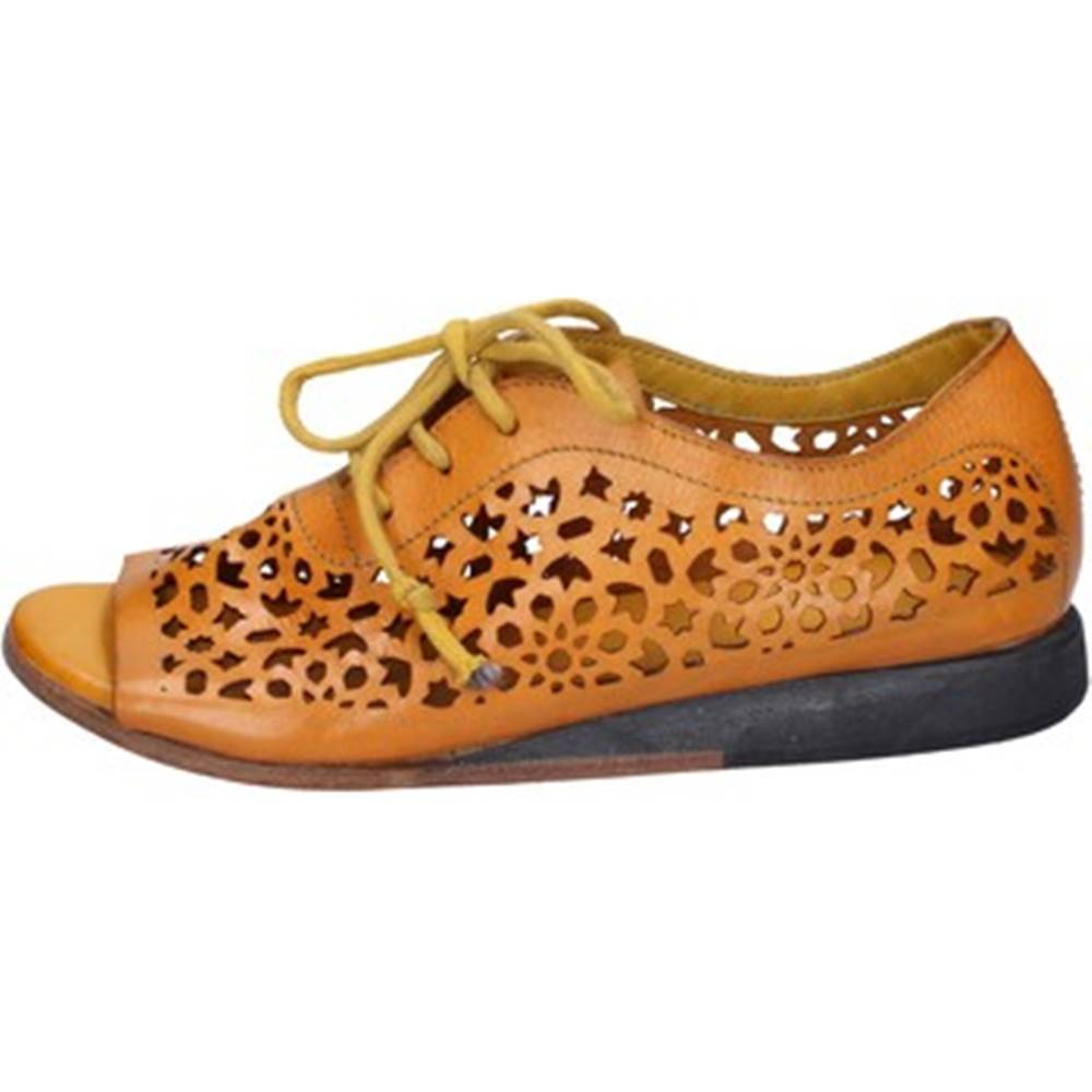 Moma Sandále Moma  sandali giallo pelle BX962