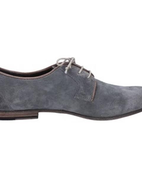 Modré topánky Moma