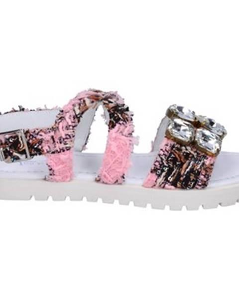 Ružové sandále Ioannis