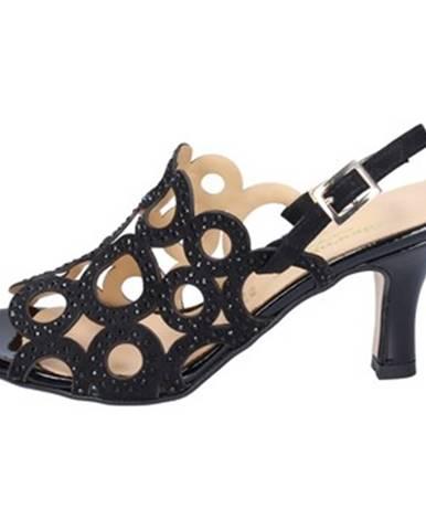 Čierne sandále Shoemaker