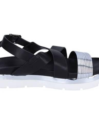 Čierne sandále Francescomilano