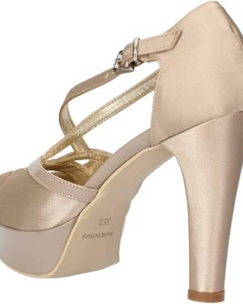 Béžové sandále Sergio Cimadamore