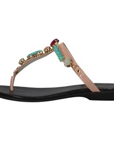 Ružové sandále Cesare P. By Paciotti