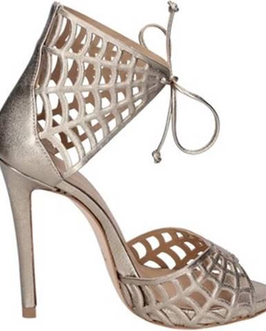 Zlaté sandále Marc Ellis