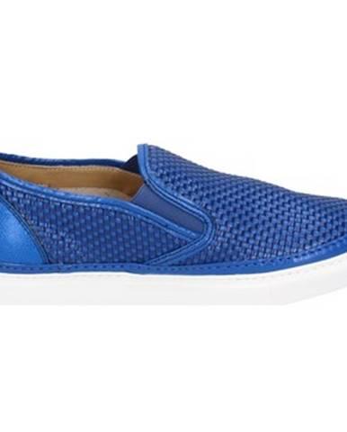 Modré espadrilky Brimarts