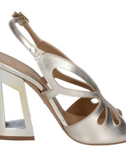 Zlaté sandále Me + By Marc Ellis