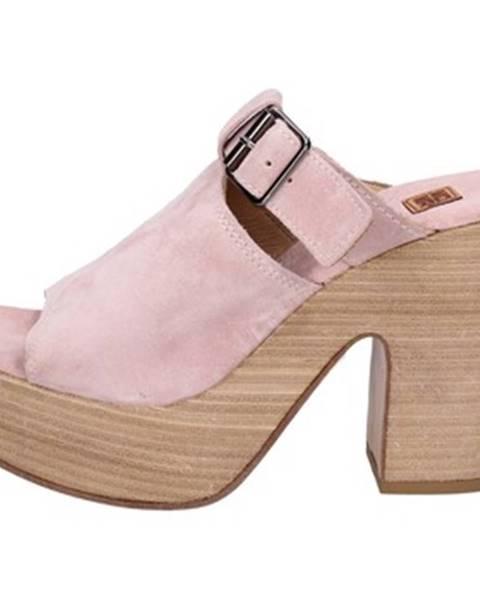 Ružové sandále Moma