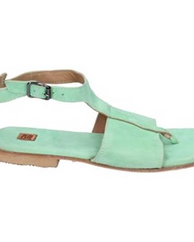 Zelené sandále Moma