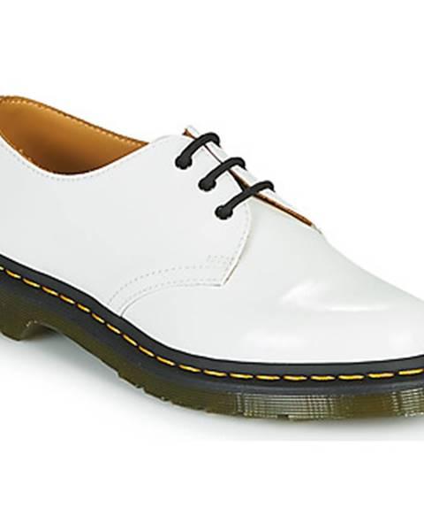 Biele topánky Dr Martens