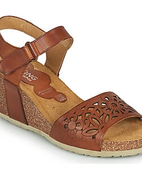 Hnedé sandále Dorking