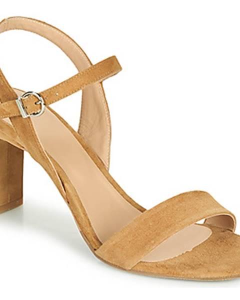 Hnedé sandále Perlato
