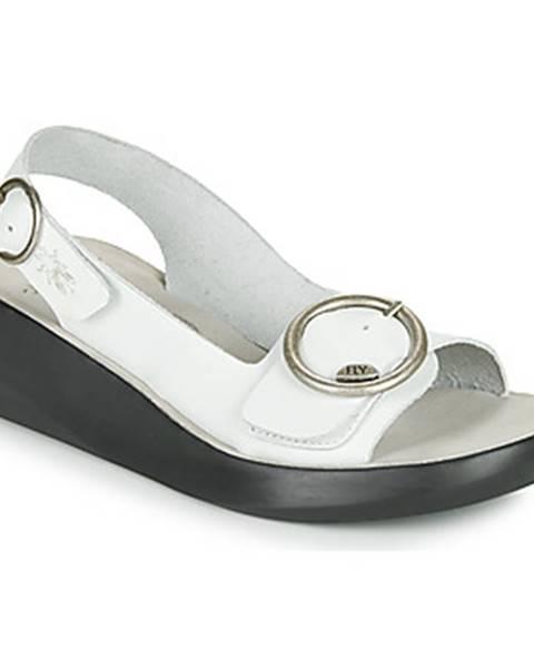 Biele sandále Fly London