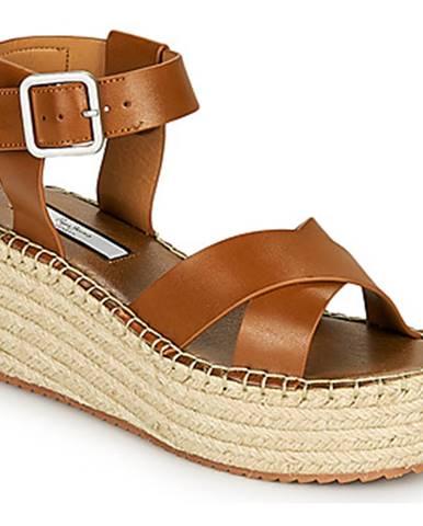 Hnedé sandále Pepe jeans