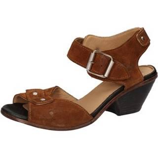 Sandále Moma  sandali marrone camoscio AD159