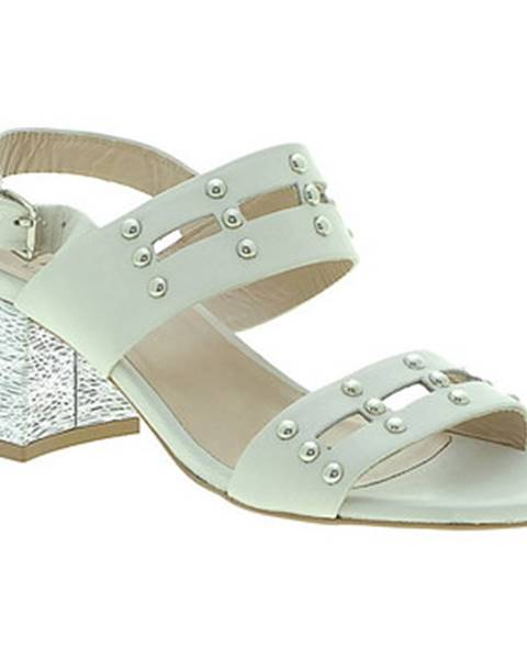 Biele sandále Mally