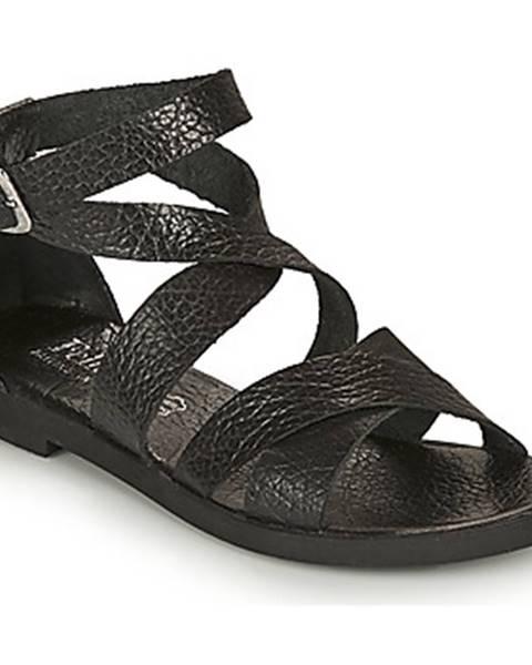 Čierne sandále Felmini
