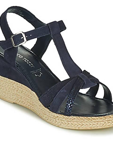 Modré sandále Marco Tozzi